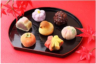 秋の行事と和菓子写真1