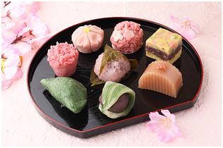 春の行事と和菓子写真1