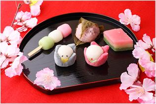 春の行事と和菓子写真2